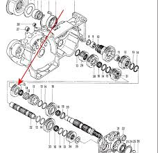 91 03 sportster main shaft 3rd third gear harley transmission 96 click on a thumbnail to see big picture