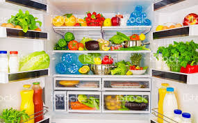 open refrigerator. full open fridge with lots of vegetables royalty-free stock photo refrigerator .