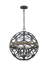 avila 5 light chandelier
