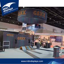 Booth Design Services Free Design Service Customized Display Booth Exhibition With Dynamic Graphic Buy Display Booth Exhibition Booth Display Exhibition Booth Design