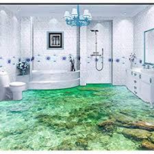 Hallo, wir sind gerade dabei einen altbau zu sanieren und wissen bei dem fußboden im badezimmer nicht weiter. Yosot Tapete Custom Bodenbelag 3d Bodenbelag Malerei Schone Meerwasser Ripple 3d Wohnzimmer Schlafzimmer Boden Malerei 140cmx100cm Amazon De Baumarkt