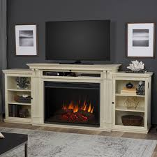 real flame grand tracey 84 tv stand with fireplace reviews wayfair