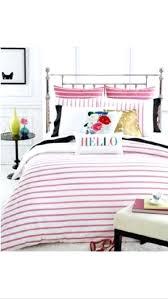 kate spade duvet covers spade king duvet cover harbour stripe white pink cotton modern home decor