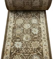 162857 runnerusa nain 162857 traditional 26 inch runner dark brown