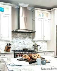 white glass tile backsplash blue and white a mixture of gray blue and white glass mosaic