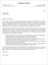 Successful Cover Letter Examples Write A Great Cover Letter Cover Letter Example Project Management