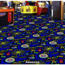 ... Fun Carpet Unusual Ideas Design 12 Family Arcade Fun Center Carpet  Black Light BlackLight ...