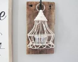 barnwood hanging lantern rustic wall decor hanging light