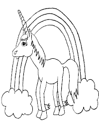 Unicorno 2 Disegni Per Bambini Da Colorare