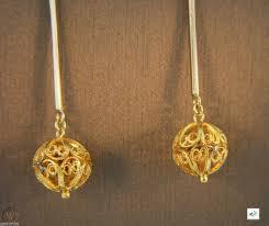 earrings 24k over 10k gold