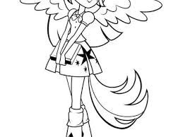 38 My Little Pony Equestria Girl Coloring Pages My Little Pony