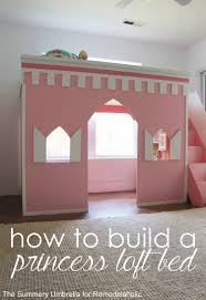 Princess Castle Bedroom Furniture Princess Castle Bed Diy Plans By Ana Whitecom Kiddo Bedrooms