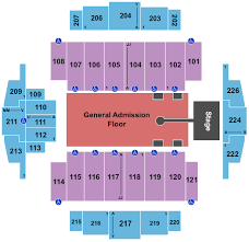 Tacoma Dome Seating Chart The Chainsmokers 5 Seconds Of Summer Tickets Tue Dec 3