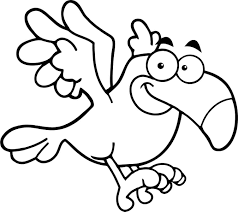 Bird Coloring Pages For Kids With Bird Coloring Pages Kindergarten