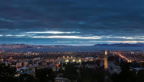 Blue Light In San Francisco Sky Bay Lights By Joe Parks On 500px San Francisco At Night