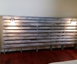 king size head board king size pallet headboard
