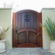 designer wood gate 615