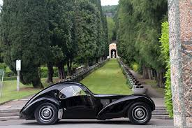 This gave the type 57 a top speed of 95 mph, an astonishing figure for the time. Bugatti Type 57sc Atlantic