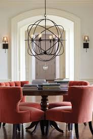 lighting excellent small kitchen chandeliers 17 wonderful table chandelier in round black iron with glass lamp