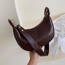 <b>Stone Pattern</b> Retro PU Leather <b>Crossbody</b> Bags For <b>Women</b> 2019 ...