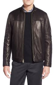 Men's <b>Leather</b> (<b>Genuine</b>) Coats & Jackets | Nordstrom