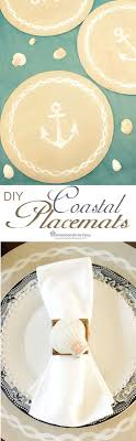 best  nautical placemats ideas on pinterest  rope decor