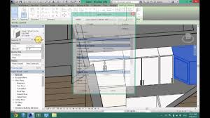 How To Create A Kitchen In Revit Architecture Youtube