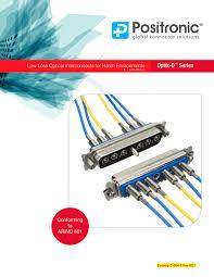 optik d catalog positronic industries pdf catalogue optik d catalog 1 10 pages