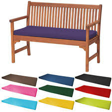 waterproof cushions for outdoor furniture. Outdoor Waterproof 2 Seater Bench / Swing Seat Cushion ONLY Garden Furniture Pad Cushions For S
