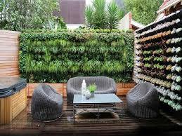 wall garden in the interior the