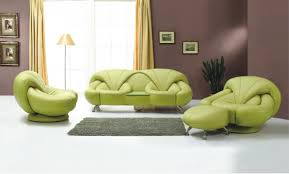 Living Room Chair With Ottoman Living Room Enchanting Green Lime Colored Living Room Chairs With