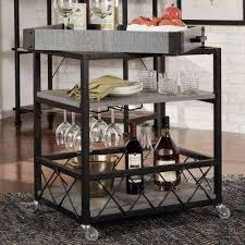 Bar Carts Kitchen & Dining Room Furniture The Home Depot