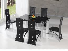 dining room furniture sets glass 3 piece modern 5 piece dining set
