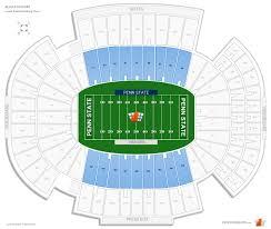 Beaver Stadium Club Level Seating Chart Beaver Stadium Club Endzone Football Seating