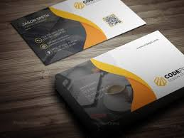 Business Card Design With Modern Style Graphic Templates
