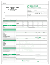 45+ Simple Landscaping Invoice Pictures