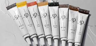 Phibrows Color Chart Phibrows Microblading Pigments Formulation Phibrows Color