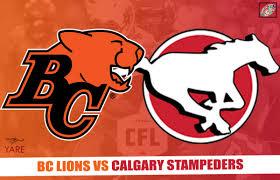 Stampeders Depth Chart Livestream Cfl Preseason Calgary Stampeders Bc Lions