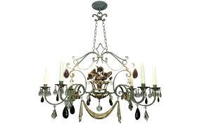 glass drop chandelier antique crystal glass drop 3 light antique silver chandelier glass drop chandelier
