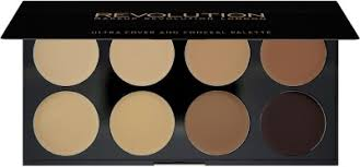 ultra cover and concealer palette light makeup revolution london concealer palette um dark 10 g