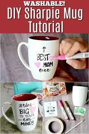 diy sharpie mug tutorial great for diy mother s day or teacher gift