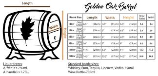 barrel size amazon com 1 liter whiskey oak barrel for aging golden oak barrel