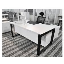 office furniture head table desk office stylish simplicity simple executive desk black and white office furniture