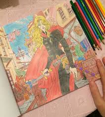 look book pages look at my hand argh throneofgl colouringbook throne of gl of look book