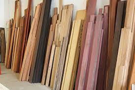 hardwood types for furniture. hardwood lumber against wall in home improvement store types for furniture