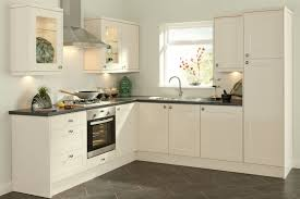 White Kitchen Designs White Stained Wooden Kitchen Cabinet Paint