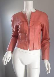 rare chanel 1990s 90s leather jacket from the runway spring summer 1999 season beautiful