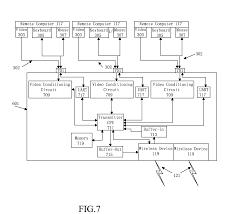 patent us8558795 switchless kvm network wireless technology patent drawing