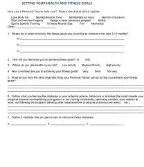 Fitness Assessment Form Gorgeous The Ultimate Guide To Personal Trainer Forms The TotalCoaching Blog