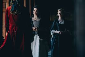 The Favourite Costume Design No Makeup And Black And White Costumes Allow The Women Of